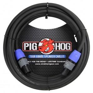PigHog Cable Altavoces SpkON - 25ft Cable para altavoces de alto rendimiento! Mide 25ft (7.6m) de largo, cuenta con alambres extra gruesos de 8mm y conectores SPKON con calidad de alto rendimiento Los cables Pig Hog están precisamente construidos para res