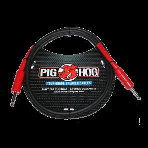 """PigHog Cable Altavoces 5ft Cable para altavoces de alto rendimiento! Mide 5ft (1.5m) de largo, cuenta con alambres extra gruesos de 8mm y conectores rectos de 1/4"""" con calidad de alto rendimiento Los cables Pig Hog están precisamente construidos para resi"""