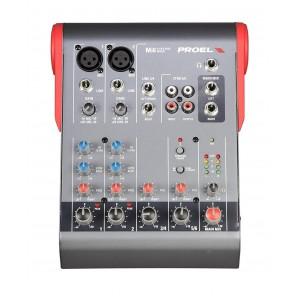 proel mi6 mezcladora compacta de 2 canales