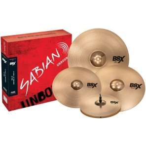 SABIAN B8X PERFORMER SET PLUS