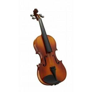 sevillana violin dlxlsv4/4 para estudiante con estuche arco brea