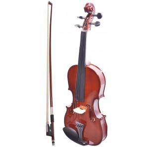 sevillana violin dlxlsv1/2 para estudiante con estuche arco brea