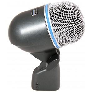 shure beta 52a microfono de condensador