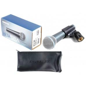 shure beta 58a microfono de condensador