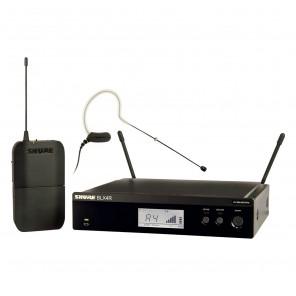 shure blx14/mx153 sistema inalambrico con microfono de diadema