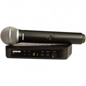shure blx24/pg58-k12 sistema inalambrico con microfono