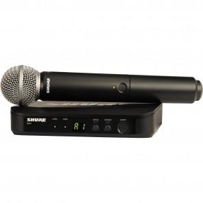 shure blx24/sm58-k12 sistema inalambrico con microfono