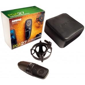 shure pga27 lc side-address microfono de condensador