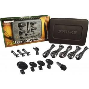 shure pga drumkit 5 set de microfonos para bateria