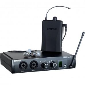 shure psm200 Sistema de monitoreo personal con auriculares