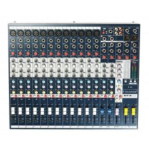 soundcraft efx12 mezcladora analogica de 12 canales con efectos