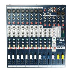 soundcraft efx8 mezcladora analogica de 8 canales con efectos