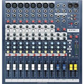 soundcraft epm8 mezcladora analogica de 8 canales