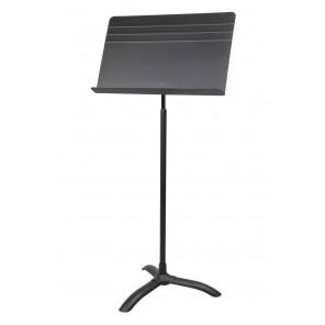 strukture orchestra style music stand soms Soporte para música diseñado para una estabilidad máxima y una funcionalidad óptima Las bases para orquesta de Strukture incluyen una sólida base de trípode, un gran escritorio conveniente y una perilla para aseg