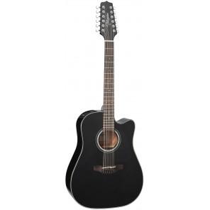 Takamine GD30CE12 Guitarra dreadnought electro-acústica de 12 cuerdas Cuerpo - Caoba con tapa sólida de Abeto Brazo - Caoba 20 trastes en diapasón PaloRosa Puente - PaloRosa Preamp - Takamine TP-4TD con ecualizador de 3 bandas y afinador integrado