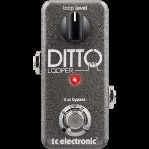 Pedal TC Electronics DITTO LOOPER generador de bucles para grabación miniatura