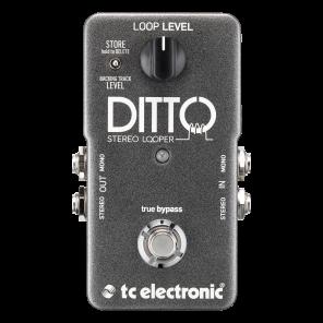 Pedal TC Electronics DITTO STEREO LOOPER generador de bucles para grabación