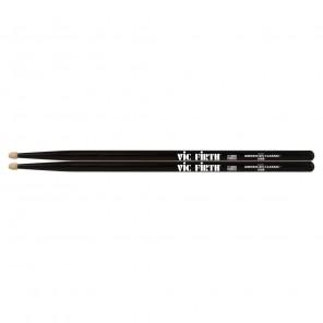 vic firth american classic 5ab Baqueta 5A color negra La Vic Firth 5A punta de madera son las baquetas más vendidas de todos los tiempos y son perfectas para cualquier baterista Estas cuentan con una punta de lágrima y un cono medio que los hacen ideales