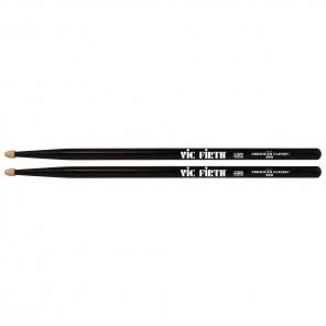 vic firth american classic 5bb Baqueta 5B color negro Las Vic Firth 5B American Classic se encuentran entre las baquetas más populares de todos los tiempos, con un peso y una sensibilidad creados para la música rock y la música de orquesta / viento fuerte