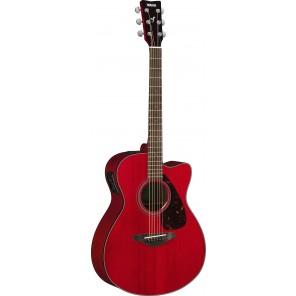 Yamaha FSX800C Guitarra concert electro-acústica Cuerpo - madera de Nato/Okume con tapa de Abeto Brazo - Nato 20 trastes en diapasón PaloRosa Puente - PaloRosa Preamp - System 66