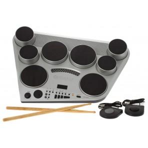 Yamaha dd65 all-in-one compact digital drums Este módulo digital es la combinación compacta perfecta todo en uno para el posible baterista En su elegante diseño, el DD-65 ofrece ocho almohadillas de batería sensibles al tacto y dos pedales de pie para un