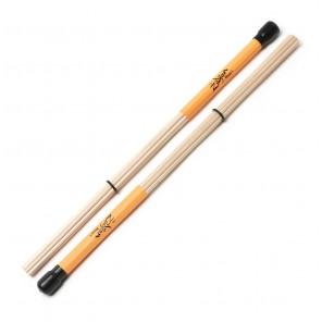 Zildjian sdm1 mezzo 1 drumstick Estas baquetas fueron diseñadas para configuraciones de volumen más bajo, y tienen un sonido nítido y único Siete varas de abedúl de alta calidad rodean una espiga central más grande, con un anillo ajustable para las opcion