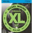 D'Addario EXL165 Encordadura para bajo eléctrico fabricada en nickel