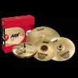 """Sabian AAX Limited Edition Pack Paquete de 5 platillos de la línea AAX de edición especial limitada que incluye: - Par de AAX Stage Hi Hats 14"""" - 1 AAXplosion Crash 16"""" - 1 AAXplosion Crash 18"""" - 1 AAX Stage Ride 20"""""""